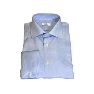 Camisa Clássica Oxford Azul Claro