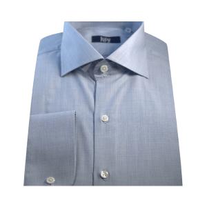 Camisa Clássica Popeline Azul Claro